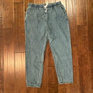 Jogger style boyfriend jeans